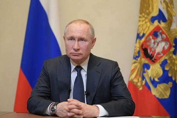 Видеообращение президента Путина