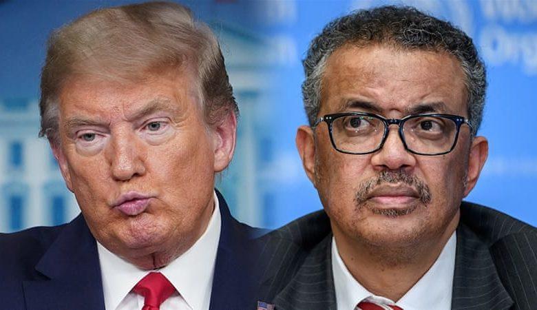 Трамп и Тедрос