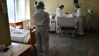 Работники реанимации во Львове